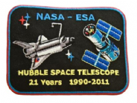 Hubble Space Telescope Anniversary Patch